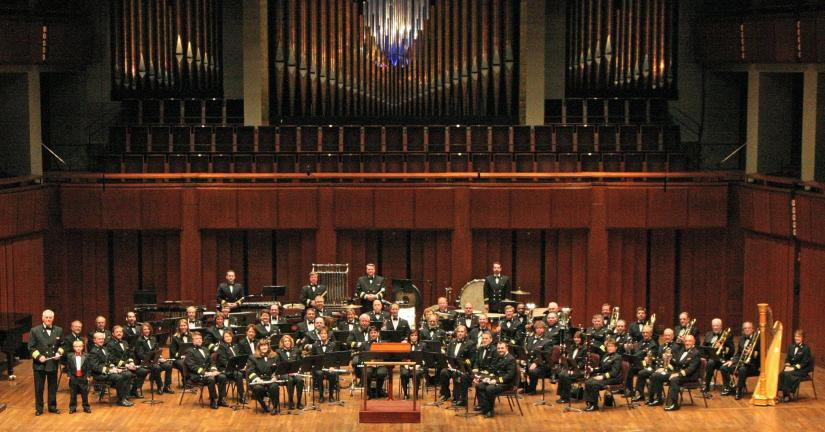 PHOTO COURTESy ALLENTOWN BAND The Allentown Band, shown at a Kennedy Center performance, is the oldest civilian concert band in the United States. The Band will perform a special Winter Festival concert at the Mauch Chunk Opera House on Sunday…