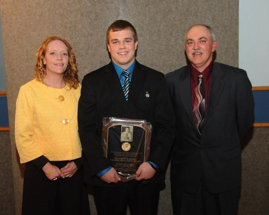 Bombers' Cook named Scholar-Athlete