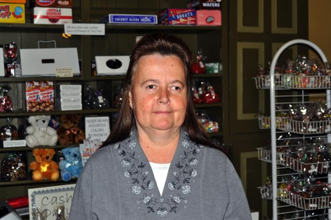 "Cindy Schroeder, Barnesville - ""I'm not Irish. But I operate the Old Station Candy Shop inside the Tamaqua train depot and for St. Patrick's Day I sell Irish potatoes - coconut creme with cinnamon on the outside."""