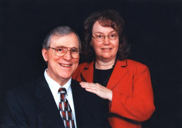 SPECIAL TO THE TIMES NEWS The Rev. Dr. Edward L Bean and his wife, Sharon, received a warm welcome from the church family at Calvary Evangelical United Methodist Church in the Lewistown Valley.