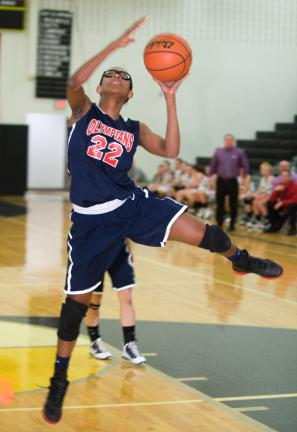 BOB FORD/TIMES NEWS FILEPHOTO Jim Thorpe's Celeste Robinson was named first team All-State in Class AAA.