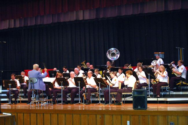 Gail Maholick/TIMES NEWS Lehighton Band presented its annual Spring Concert on Sunday at the Lehighton Area Middle School.