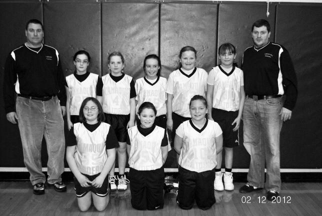 The Tamaqua girls 4th grade basketball team recently completed a stellar undefeated season with a 22-0 record. They finished the regular Schuylkill League season with a record of 13-0. They also were also champions of the North Schuylkill Booster…