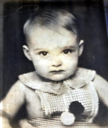 Baby photo of two-year-old Jerome Coonon, whose fate is unknown.