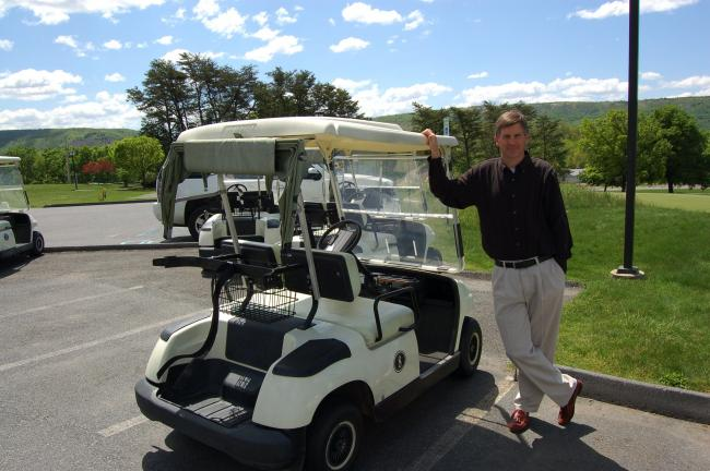 ed hedes/times news Rich Conwell has been named the golf pro at Blue Ridge Country Club in Palmerton.
