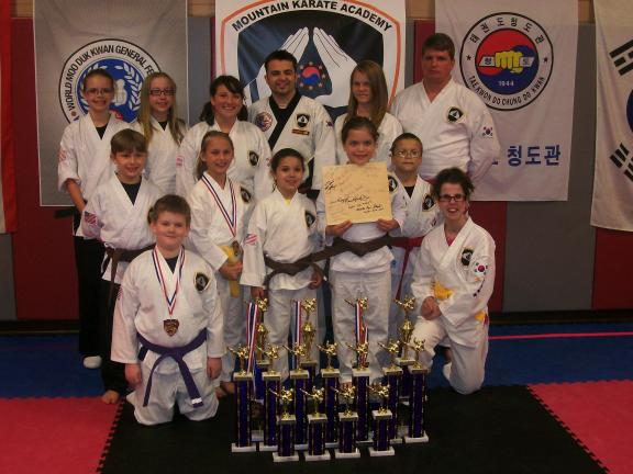 Mountain Karate brings home awards