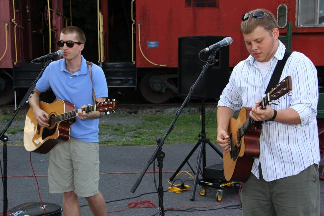 "Magic 105.5 and WLSH 1410 radio held a free concert for the community at the Tamaqua Train Station. Performing were ""Chinese Take-Out."" Helping to sponsor the event were AAA Schuylkill County, M & S Hardware in Tamaqua, Service Electric and EZ to…"