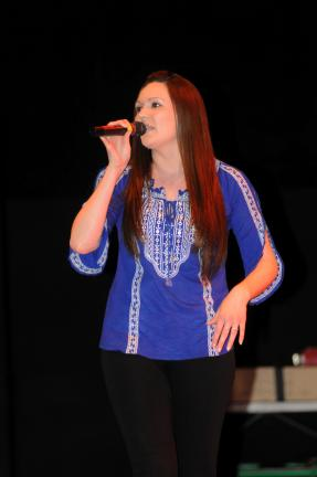Ron Gower/TIMES NEWS Country singer Nicole Donatone, who has recorded an original CD and who has a weekly show on Penn's Peak Radio, will be performing at the West End Fair in Gilbert on opening day, Sunday, Aug. 26, at noon, 2, and 4 p.m.