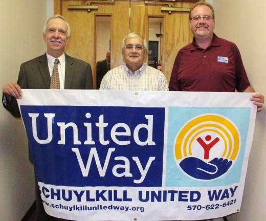 ANDREW LEIBENGUTH/TIMES NEWS Tamaqua's United Way of Schuylkill County members have announced that their normal annual breakfast kickoff event has been changed to a noon luncheon kickoff event, planned for Friday Sept. 21. The event, being held at…