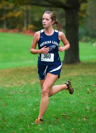 Bob ford/times news Rachel Hendrix had a 10th place finish to pace Northern Lehigh.