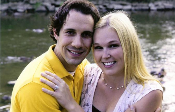 Andrew Waber and Kelly Petritsch