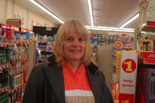 "Joyce Costenbader, Palmerton - ""I just started about three weeks ago. My major one is for my granddaughter, because my kids get cash."""