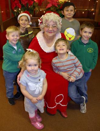 ANDREW LEIBENGUTH/TIMES NEWS Story time with Mrs. Claus Children in Tamaqua were treated to a special story time with Mrs. Claus at the Tamaqua Community Arts Center as part of the Tamaqua Spirit of Christmas Festival held over the weekend…
