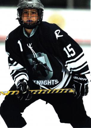 @Caption Stand Alone:Wenner invited to play in prestigious tournament Cole Wenner, seen here as a member of the Wilkes-Barre/Scranton Junior Knights, has been selected to participate in a prestegious PeeWee International Ice Hockey Tournament in…