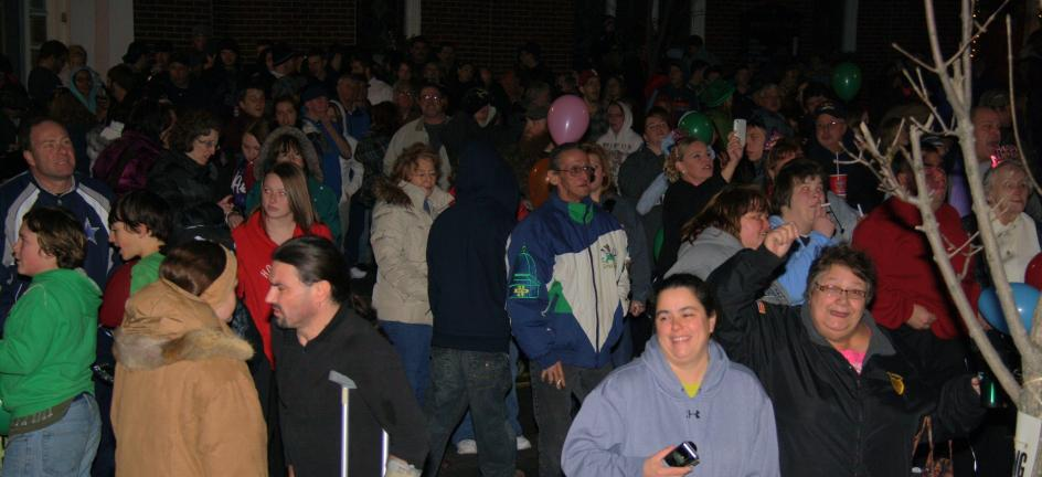 ANDREW LEIBENGUTH/FILE PHOTO/TIMES NEWS The 100 block of East Broad Street will be filled with people as the Eagles rise tonight in Tamaqua.