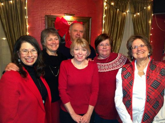 SPECIAL TO THE TIMES NEWS The Palmerton Area Democratic Club elected new officers for 2013 at their annual meeting on Dec. 13. From left are: Sarina Berlow, president; Sandi Peters, vice president; Marian Hoffner, retiring secretary; Mari Seib,…