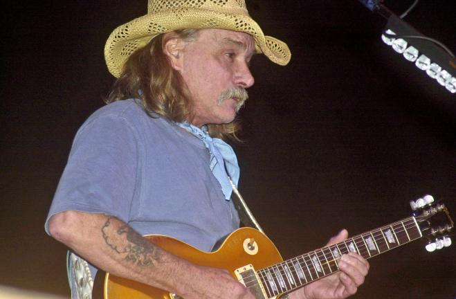 Dicket Betts, a found of the Allman Brothers Band, will be appearing with his band Great Southern at Penn's Peak in Jim Thorpe on Saturday.
