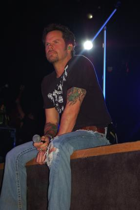 Amy Miller/TIMES NEWS Gary Allan in previous concert at Penn's Peak. The country singer is making a return visit to the venue on Wednesday, March 27.