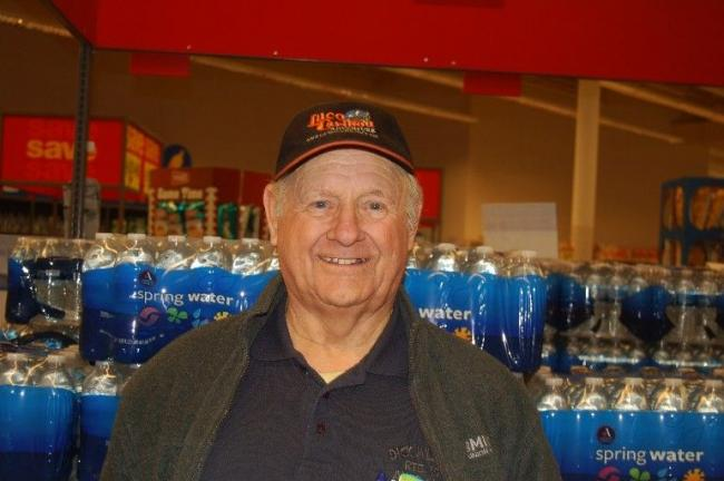 "George Moyer, Walnutport - ""I think it's less safe because of our policies coming from the White House."""