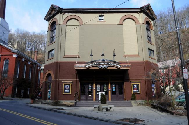 Ron Gower/TIMES NEWS The Mauch Chunk Opera House has undergoing major renovations.