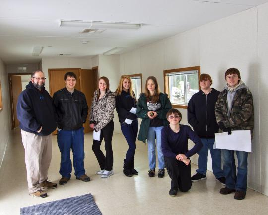JOHN STOJ/SPECIAL TO THE TIMES NEWS CCTI Drafting & Design Technology students recently visited the new modular building, which will become the Penn-Kidder Library. The students will each design an interior layout, and the library board will select…