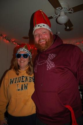 Dana Suter and George Chiger were named Queen and King of the 13th annual Pocono Polar Bear Plunge.
