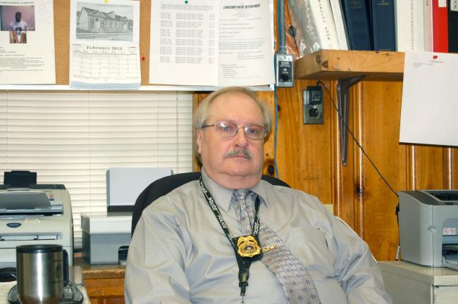 CHRIS PARKER/TIMES NEWS Lansford Police Chief John Turcmanovich