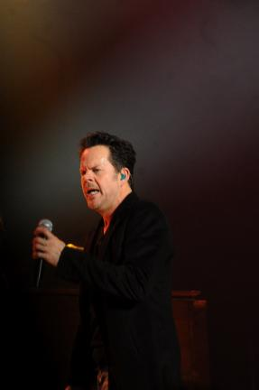 "RON GOWER/TIMES NEWS Country singer Gary Allan performs at Penn's Peak in Jim Thorpe. A near capacity crowd attended the show which featured the country star performing numerous songs from his newest album, ""Set You Free."""