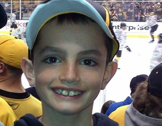 AP PHOTO This undated photo provided by Bill Richard shows his son, Martin Richard, in Boston. Martin Richard, 8, was among the at least three people killed in the explosions at the finish line of the Boston Marathon Monday.