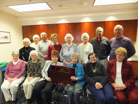 Auxiliary members at the Lehighton campus of Blue Mountain Health System with 10 or more years of service during the 2012-2013 fiscal year were honored on Thursday during National Volunteer Week. Their names were added to the Carl S. Merluzzi…