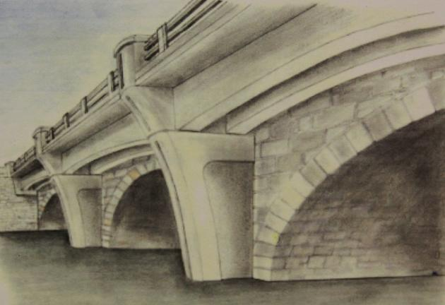 PENNDOT/SPECIAL TO THE TIMES NEWS Pictured is an artist's rendition of the bridge after its estimated completion in November 2014.