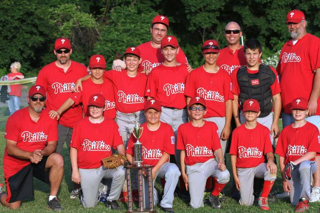Carbon County Little League Majors champions