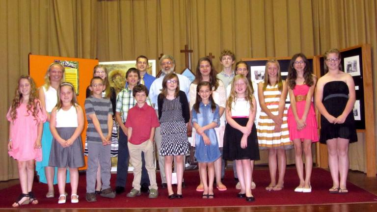 SPECIAL TO THE TIMES NEWS Students of Perry Music Studio performed in their annual recital recently.
