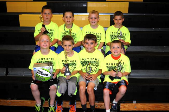 RON GOWER/TIMES NEWS Prep Division winners Award winners in the Prep Division at the Panther Valley Basketball Camp were, front row, from left, Matt Engler, Isaiah Marchorro, Brady Sherry and Andrw Kokinda. Back row, Michael Pascoe, Bradley Hood,…