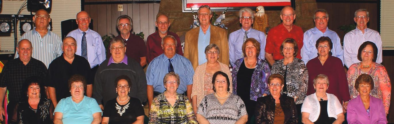 Members of the Lehighton Area High School Class of 1963 recently celebrated their 50th class reunion at the American Legion Post 314 in Lehighton. Classmates attending the reunion included, front row from left: Pearlene (Hosier) Eaches, Magdalen …