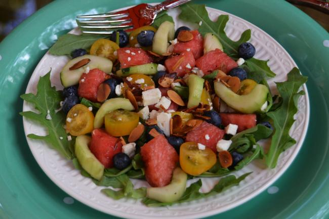 KAREN CIMMS/TIMES NEWS Liz's Red Sox Salad