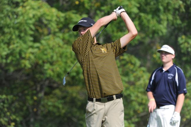 Palmerton splits Colonial League golf match
