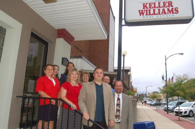 TERRY AHNER/TIMES NEWS Members of the Keller William Real Estate team include, front l-r, Sue Kromer, administrator, Tiffani Christman, marketing director, Jim Christman, associate broker; back l-r, Rachel Rzepiela, administrator, Mary Rogal, agent,…