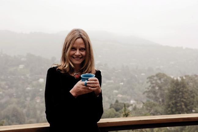 PHOTOS COURTESY OF JOYCE MAYNARD Joyce Maynard, above, whose latest book, After Her, was released last month, has also seen the re-release of her memoir, At Home in the World, (see below) earlier this month.