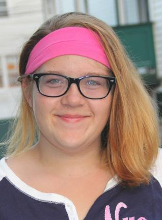 "Lisa Murphy, 14, Tamaqua - ""Lots of snow. I love snow. The reason for this is be"