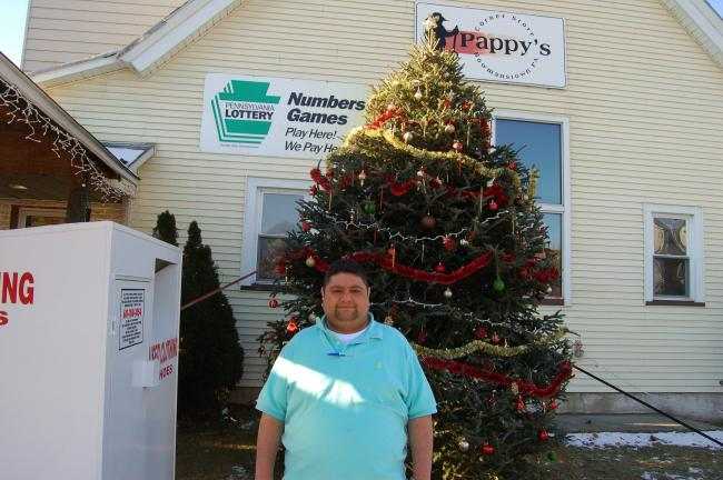 TERRY AHNER/TIMES NEWS Kedar Kankia is the new owner of Pappy's Corner Store, at 600 White Street, in Bowmanstown.