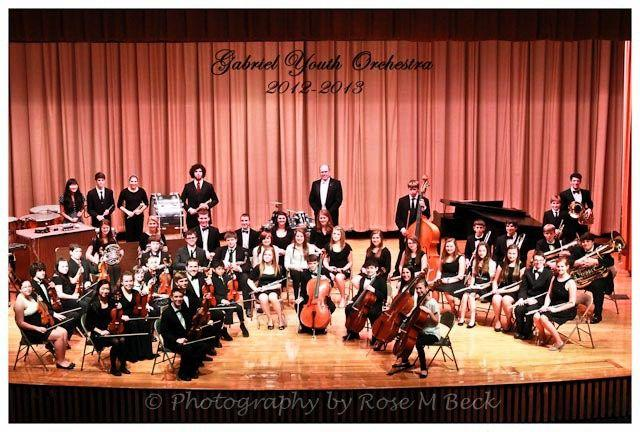The Gabriel Youth Orchestra will present its holiday concert at 3 p.m. Sunday in D.H.H. Lengel Auditorium, Pottsville Middle School.