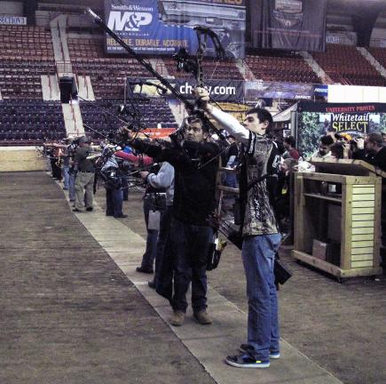 Archery will be among the popular contests to be held at the National Rifle Association's nine-day Great American Outdoor Show, which opens Saturday, Feb. 1, at the Pennsylvania State Farm Show Complex in Harrisburg.