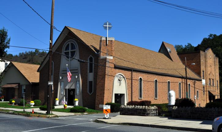 SS. Peter and Paul's Lithuanian Catholic Church of Tamaqua.
