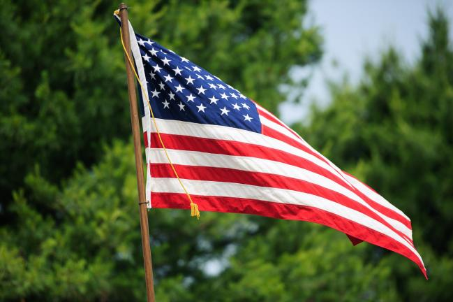 "BOB MILLER/TIMES NEWS Today, June 14, is National Flag Day. United States residents should fly the American Flag in honor of the day that the ""Stars and Stripes"" were authorized by Congress as the official national symbol of the United States of America."