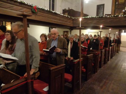 Goshen church serves up free Christmas dinner
